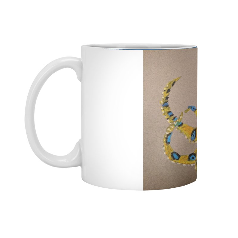 Blue-Ringed Octopus Accessories Mug by Whimsical Wildlife Wares
