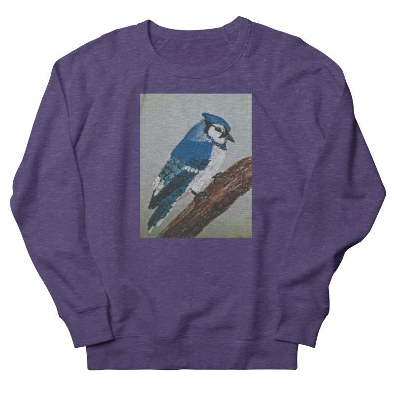 Blue Jay Women's Sweatshirt by Whimsical Wildlife Wares