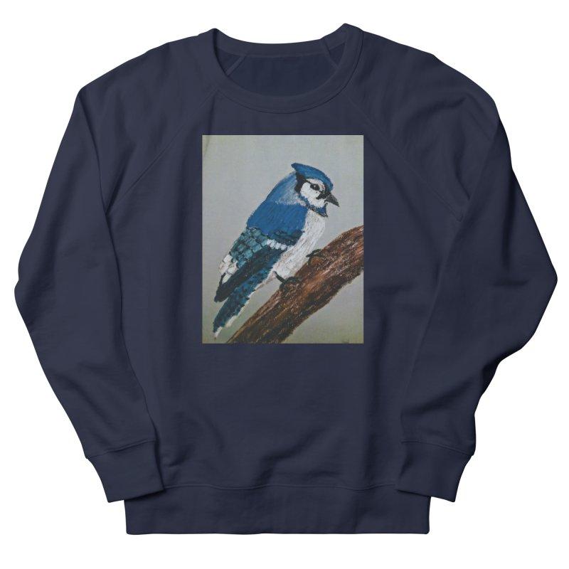 Blue Jay Men's Sweatshirt by Whimsical Wildlife Wares