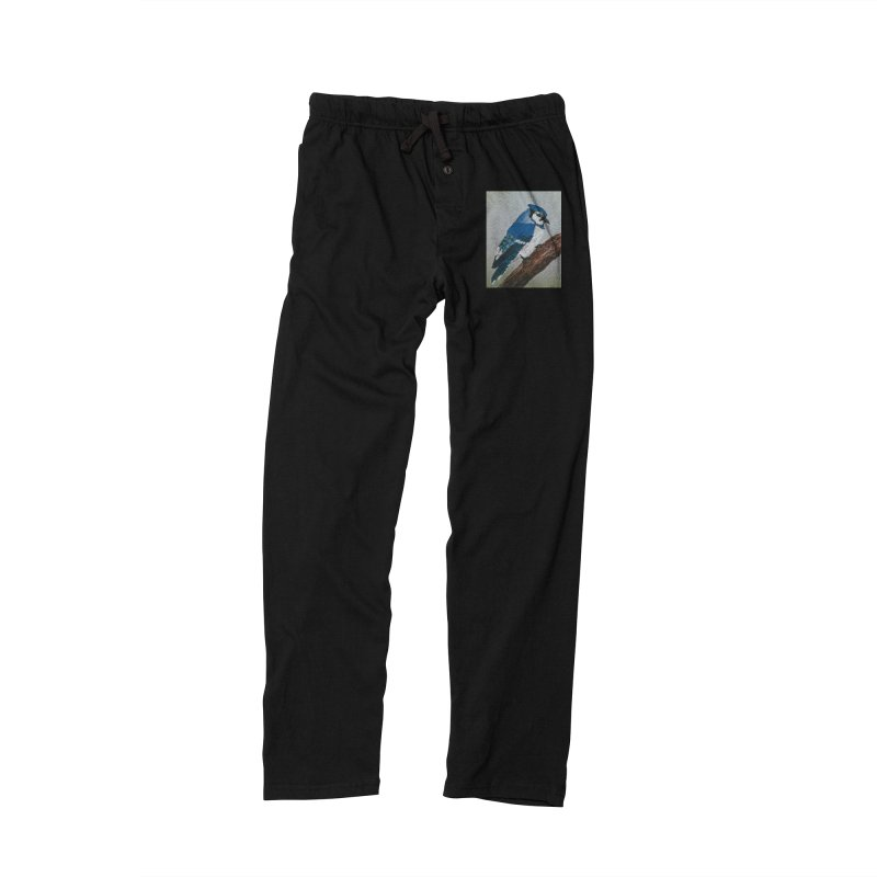 Blue Jay Men's Lounge Pants by Whimsical Wildlife Wares
