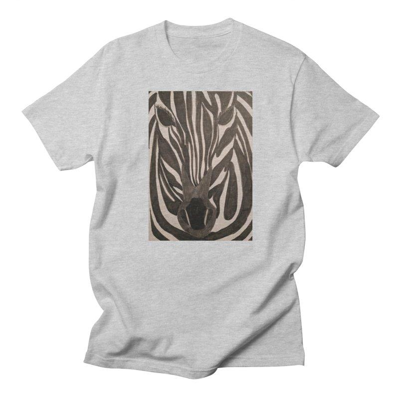 Zebra Women's Unisex T-Shirt by Whimsical Wildlife Wares