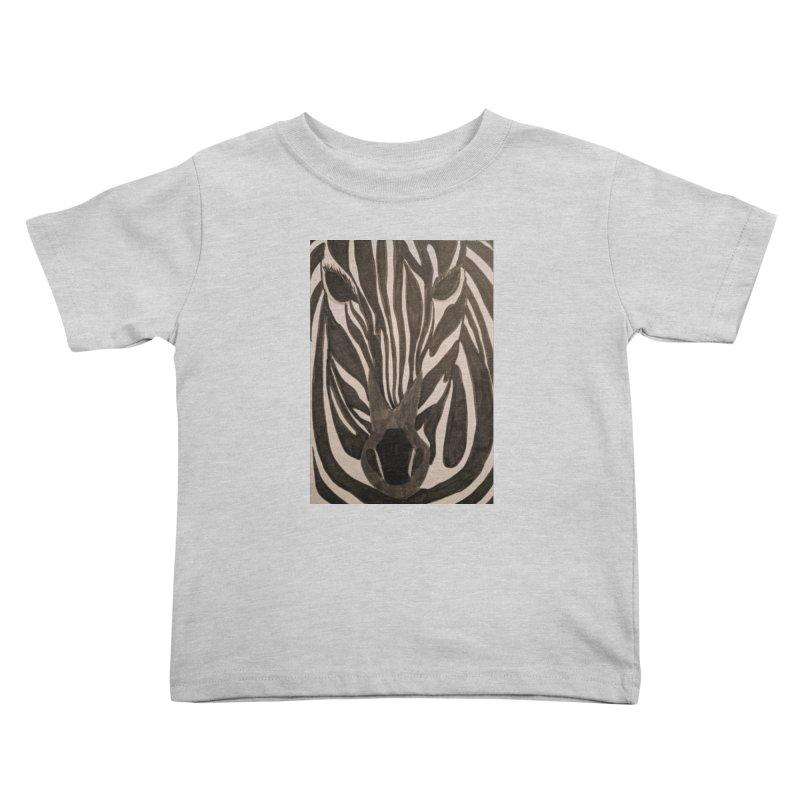 Zebra Kids Toddler T-Shirt by Whimsical Wildlife Wares