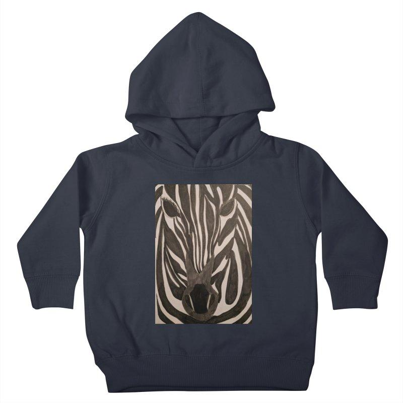 Zebra Kids Toddler Pullover Hoody by Whimsical Wildlife Wares
