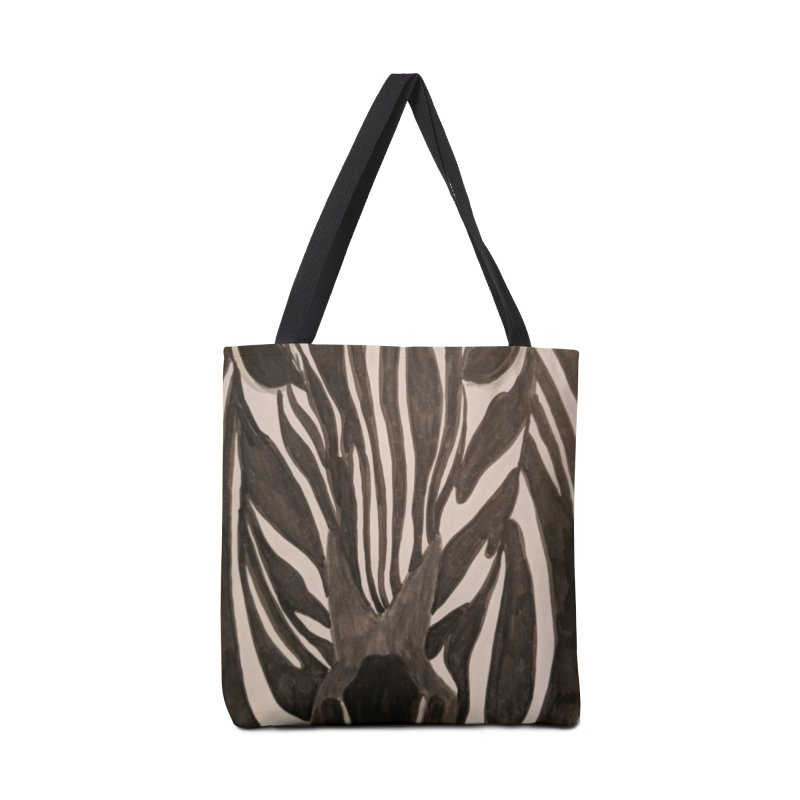 Zebra Accessories Bag by Whimsical Wildlife Wares