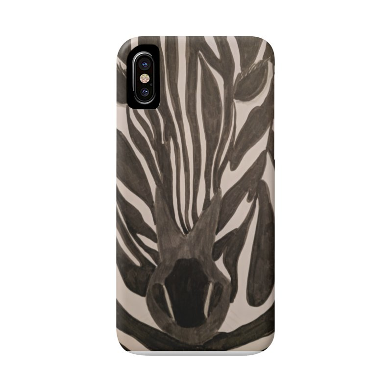 Zebra Accessories Phone Case by Whimsical Wildlife Wares