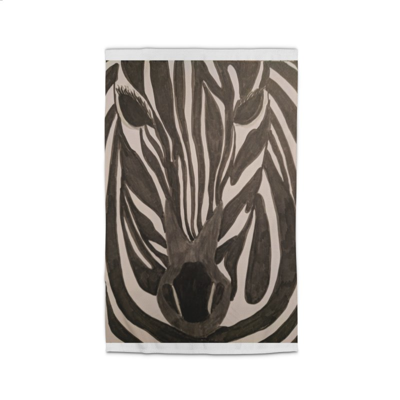 Zebra Home Rug by Whimsical Wildlife Wares