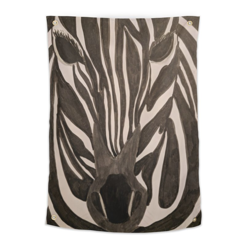 Zebra Home Tapestry by Whimsical Wildlife Wares