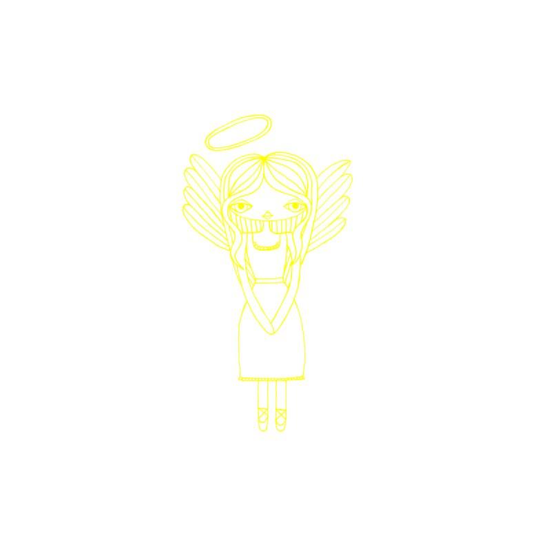Juliette Angel (Yellow) Women's Tank by SunnyGrrrl's Merch For Misfits