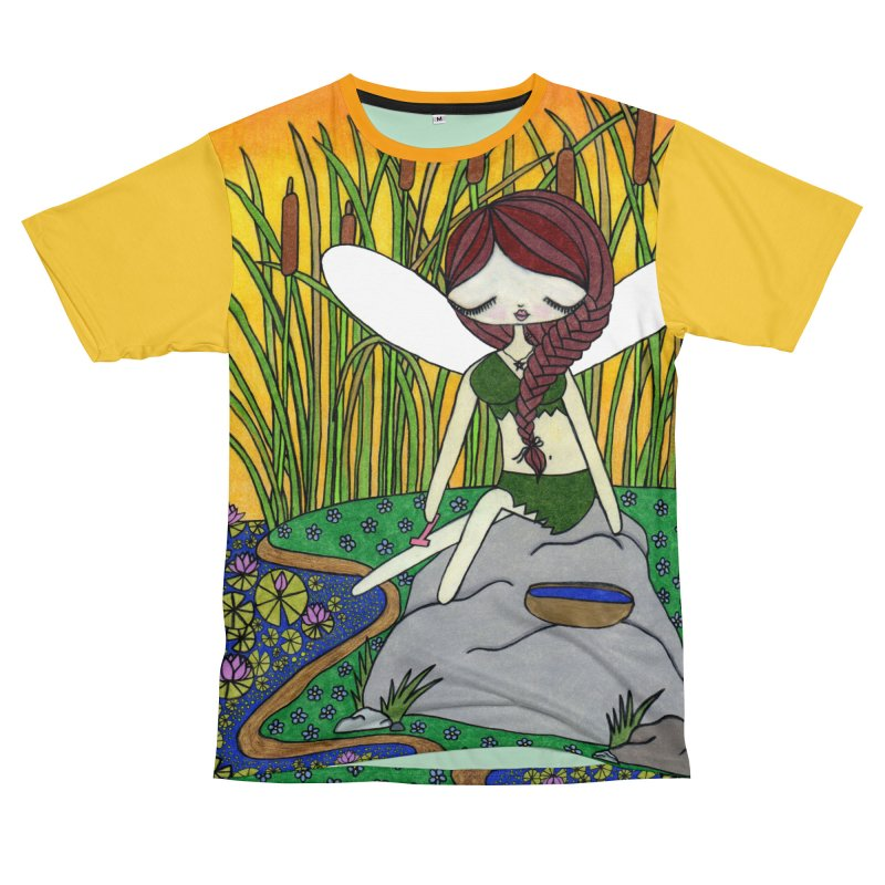 """""""Shaving Fairy"""" by Sunny Crittenden Women's Cut & Sew by SunnyGrrrl's Merch For Misfits"""