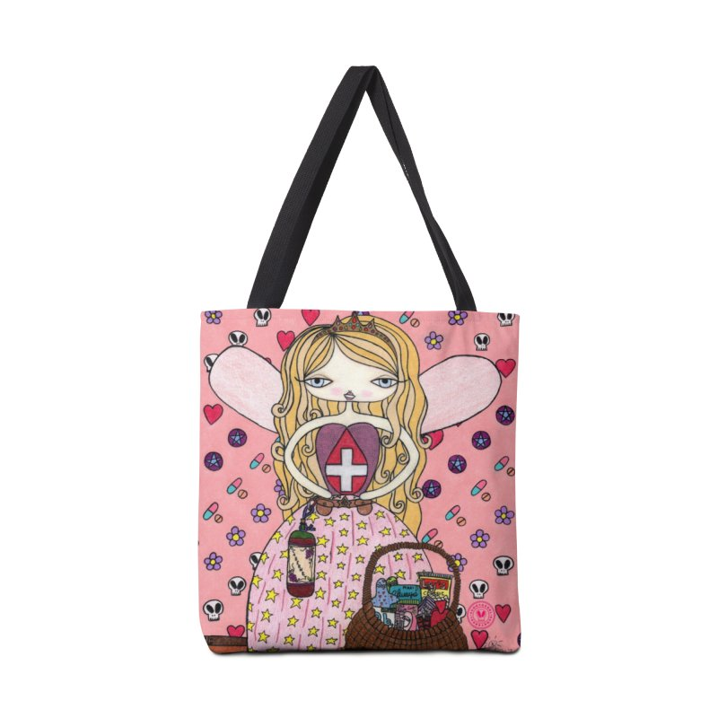 """Endometria The Period Fairy"" by Sunny Crittenden Accessories Bag by SunnyGrrrl's Merch For Misfits"