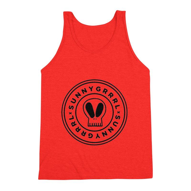 Black SunnyGrrrl Logo Men's Tank by SunnyGrrrl's Merch For Misfits