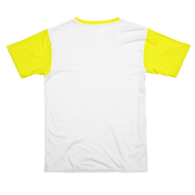 Yellow SunnyGrrrl Logo Men's Cut & Sew by SunnyGrrrl's Merch For Misfits