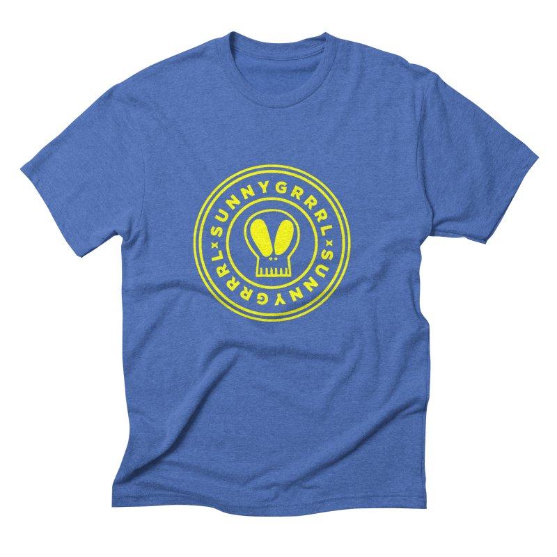 Yellow SunnyGrrrl Logo Men's T-Shirt by SunnyGrrrl's Merch For Misfits