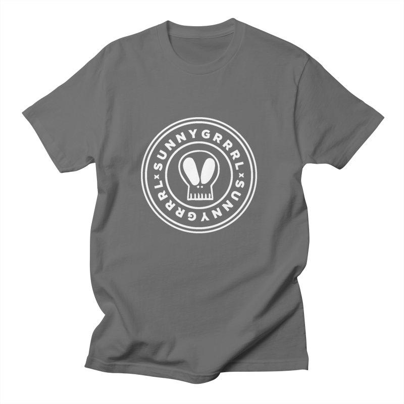 White SunnyGrrrl Logo Women's T-Shirt by SunnyGrrrl's Merch For Misfits