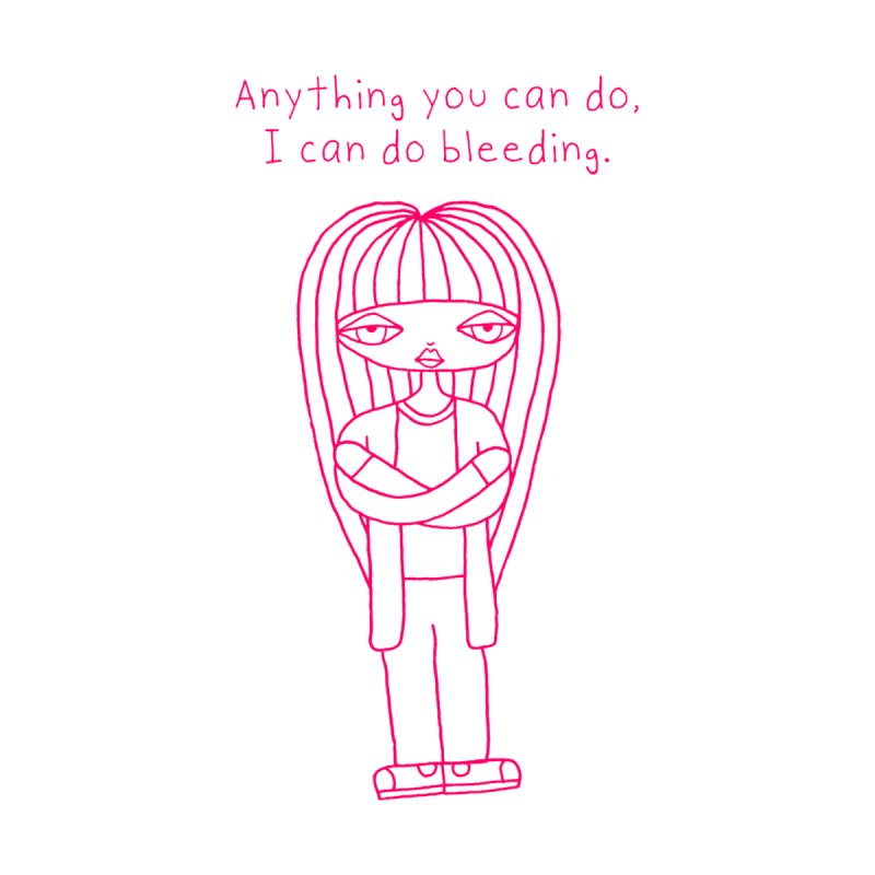 """Anything You Can Do..."" (Magenta) Women's T-Shirt by SunnyGrrrl's Merch For Misfits"