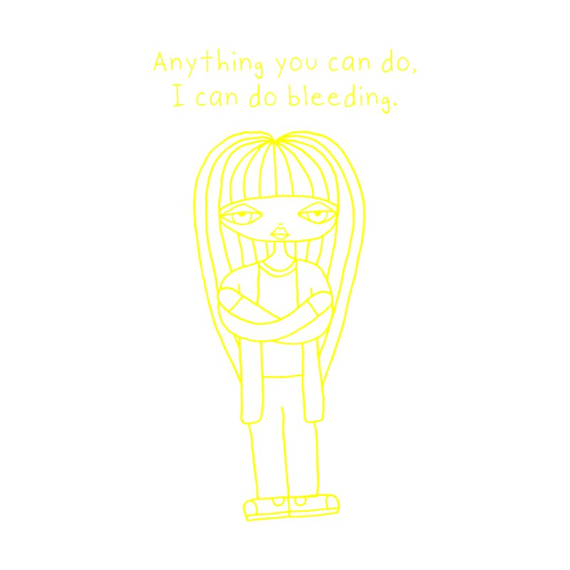 """Anything You Can Do..."" (Yellow) Women's Tank by SunnyGrrrl's Merch For Misfits"