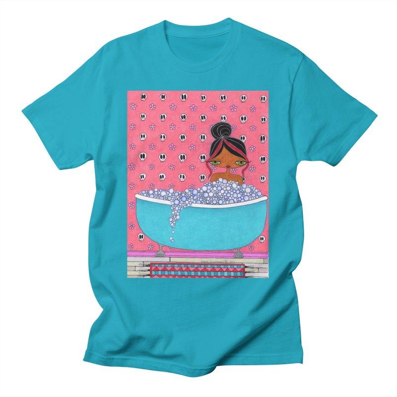 Bubble Bath Men's T-Shirt by SunnyGrrrl's Merch For Misfits