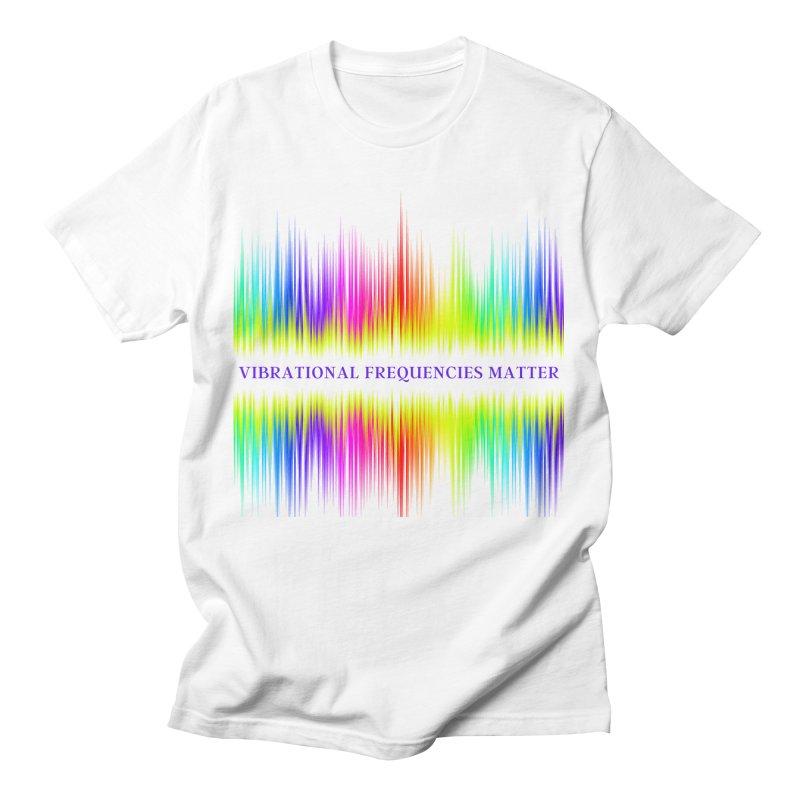 Vibrational Frequencies Matter Men's T-Shirt by Be A Blessing Enterprises' Artist Shop - Putting F