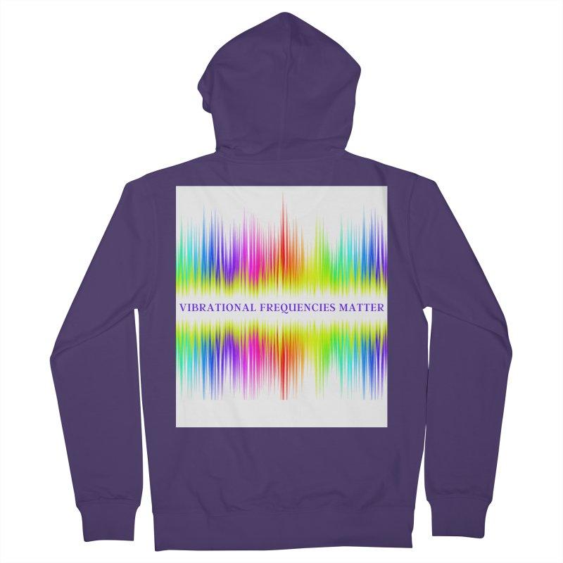 Vibrational Frequencies Matter Women's Zip-Up Hoody by Be A Blessing Enterprises' Artist Shop - Putting F