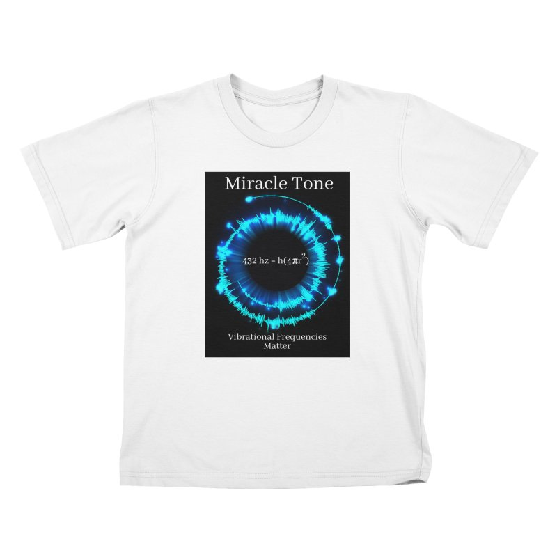 Miracle Tone Equation Kids T-Shirt by Be A Blessing Enterprises' Artist Shop - Putting F