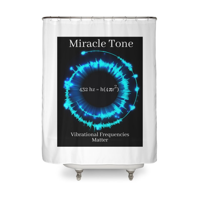 Miracle Tone Equation Home Shower Curtain by Be A Blessing Enterprises' Artist Shop - Putting F