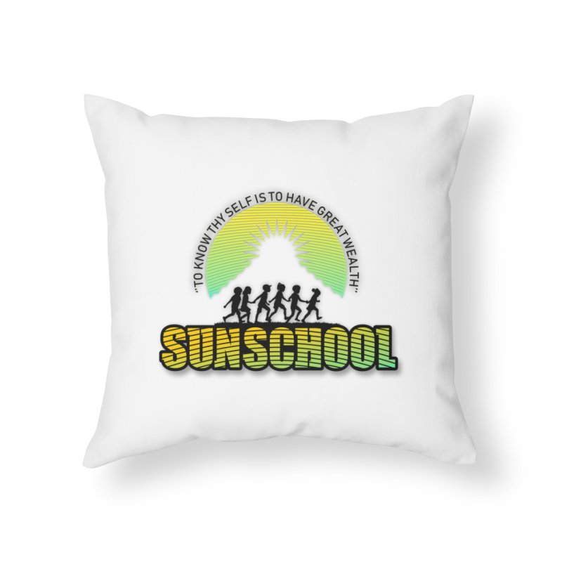 Sunschool Themed Products Home Throw Pillow by Be A Blessing Enterprises' Artist Shop - Putting F