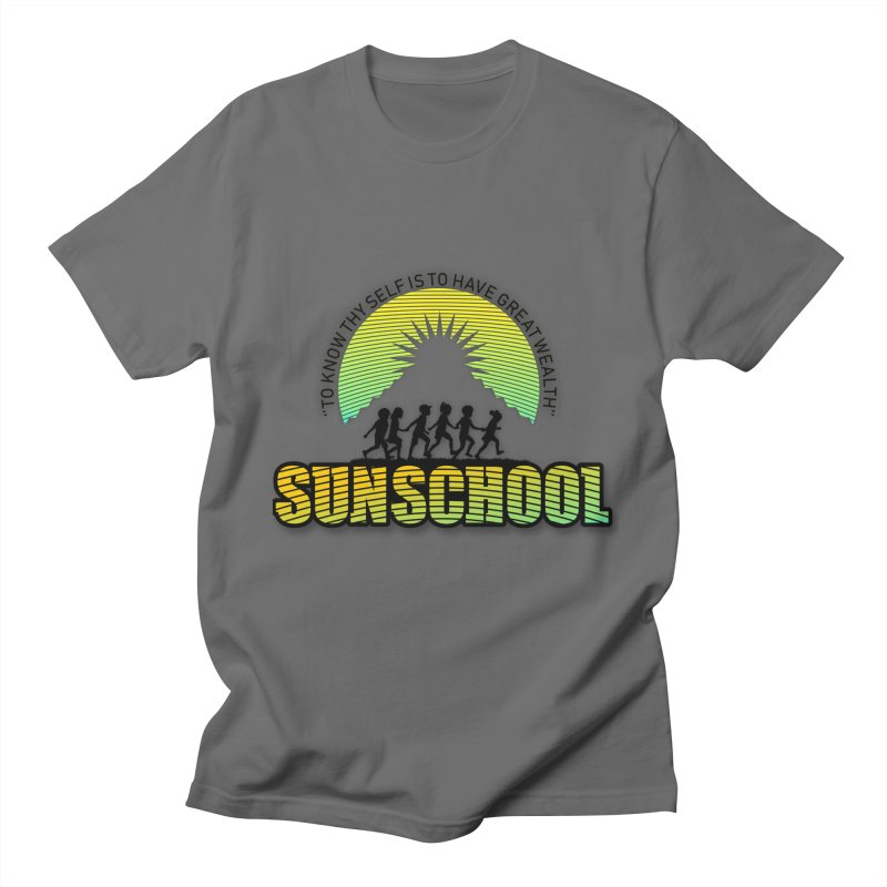 Sunschool Themed Products Men's T-Shirt by Be A Blessing Enterprises' Artist Shop - Putting F