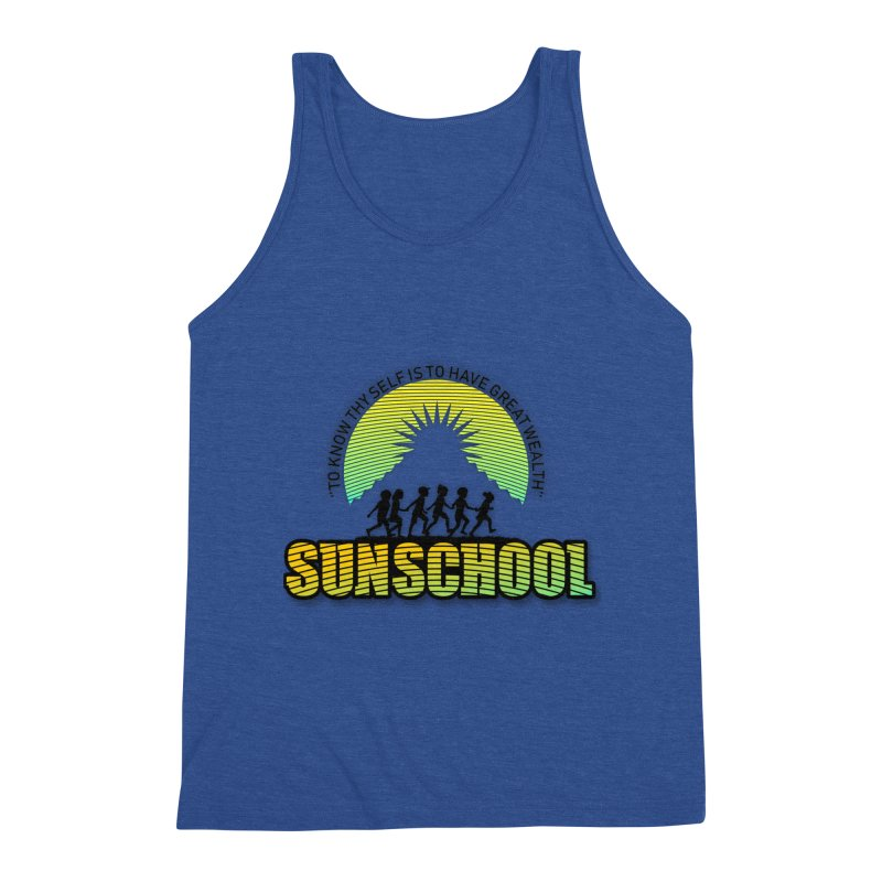 Sunschool Themed Products Men's Tank by Be A Blessing Enterprises' Artist Shop - Putting F