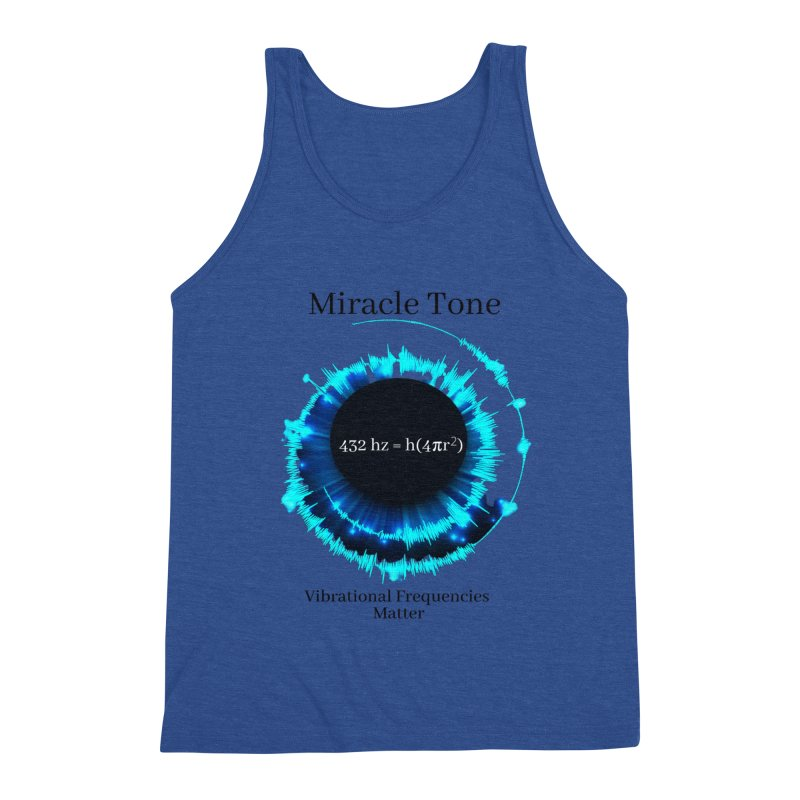 Miracle Tone Equation - White Background Men's Tank by Be A Blessing Enterprises' Artist Shop - Putting F