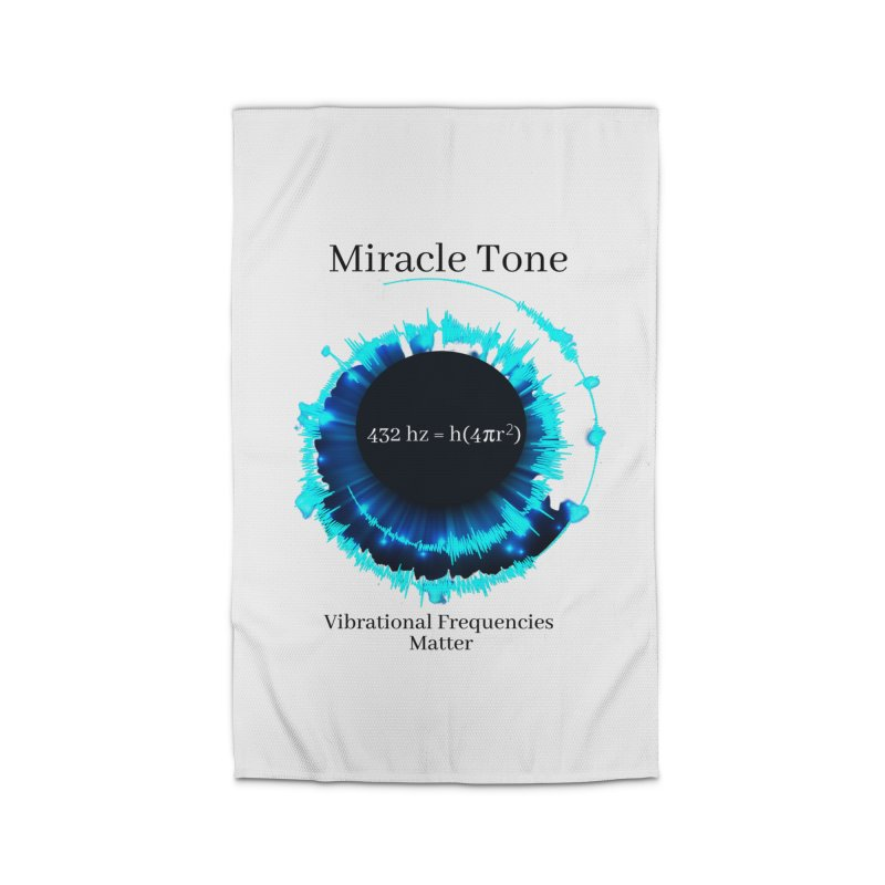 Miracle Tone Equation - White Background Home Rug by Be A Blessing Enterprises' Artist Shop - Putting F