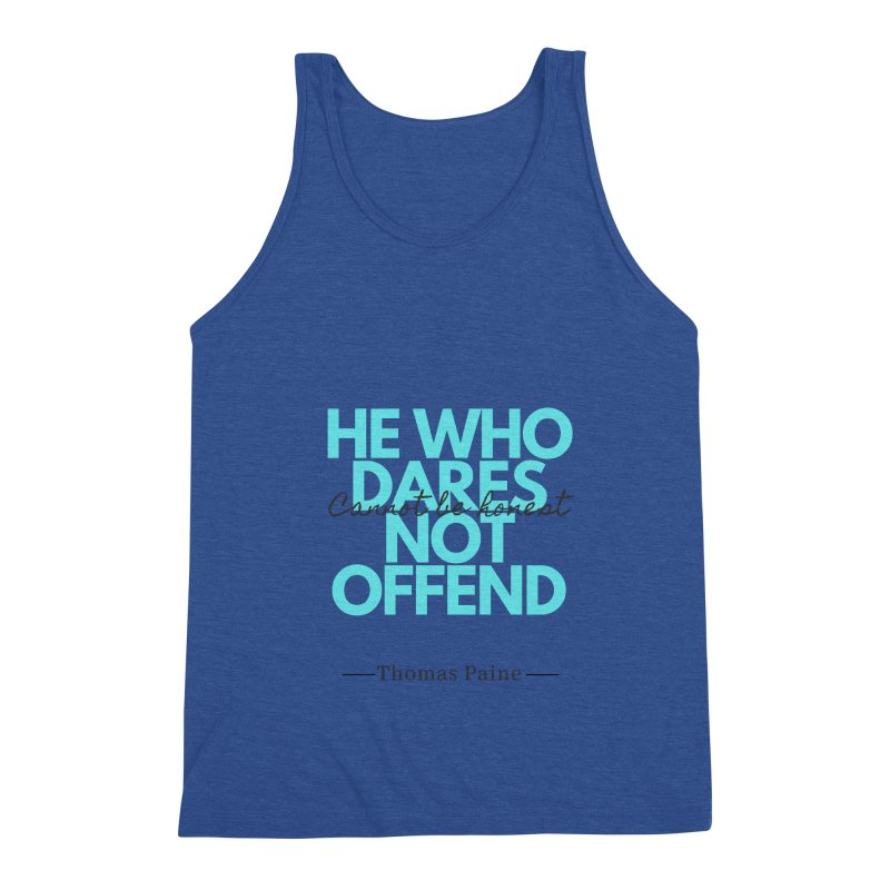 Thomas Paine Quote Men's Tank by Be A Blessing Enterprises' Artist Shop - Putting F