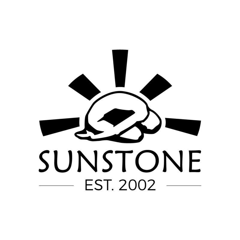 Sunstone 2002 - black ink Men's T-Shirt by sunstoneFIT's Shop