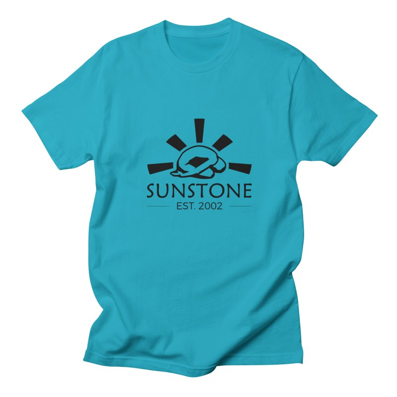 Sunstone 2002 - black ink Women's Regular Unisex T-Shirt by sunstoneFIT's Shop