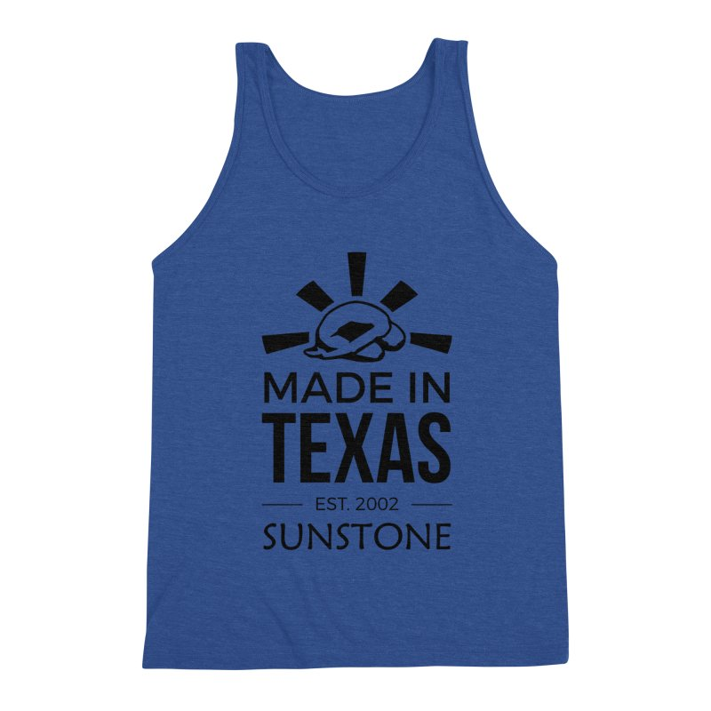 Made in Texas - Black Ink Men's Tank by sunstoneFIT's Shop