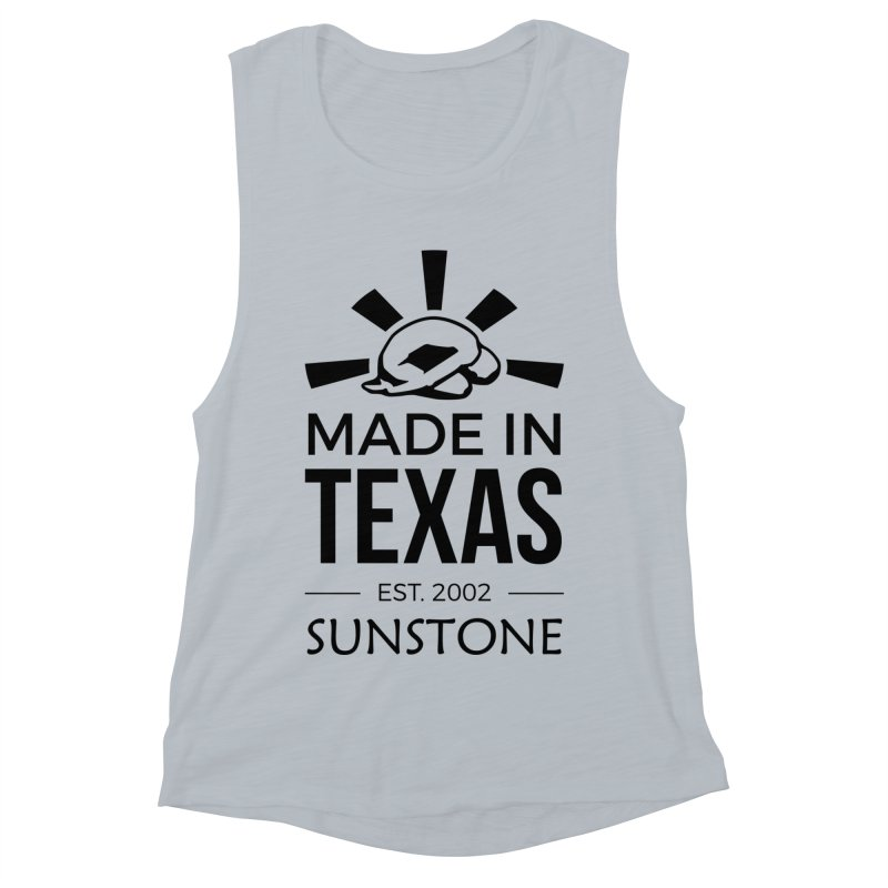 Made in Texas - Black Ink Women's Muscle Tank by sunstoneFIT's Shop