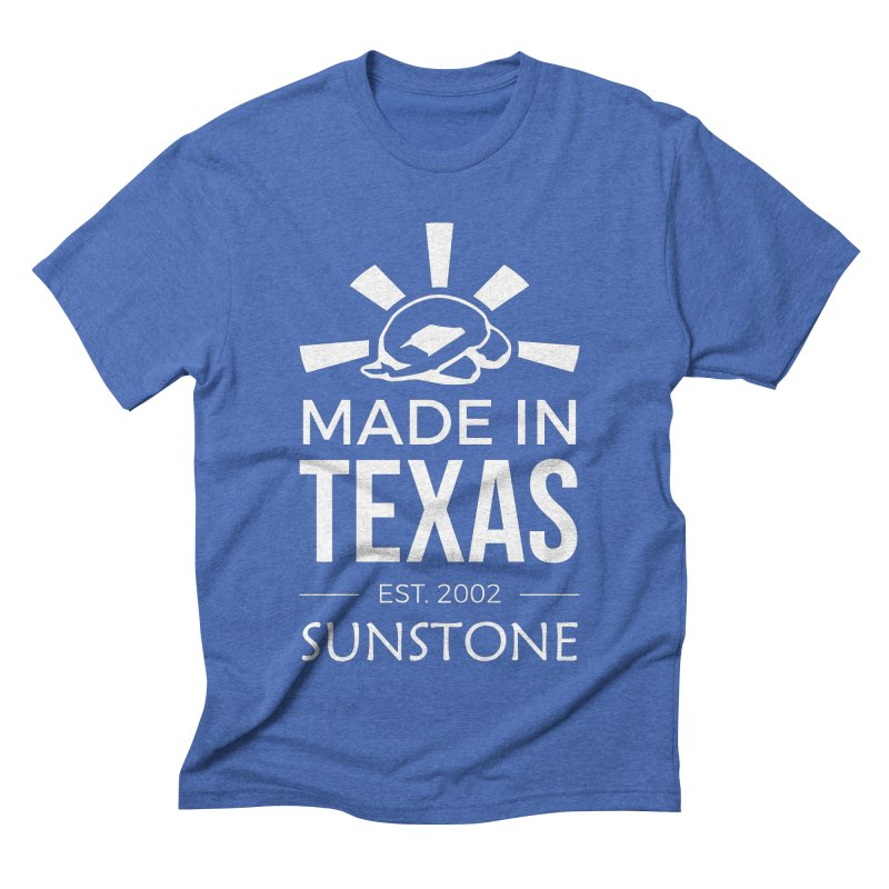 Made In Texas - White Ink Men's T-Shirt by sunstoneFIT's Shop