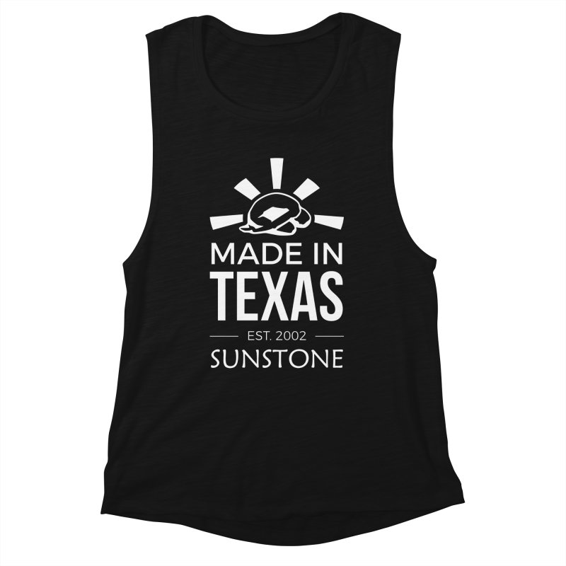 Made In Texas - White Ink Women's Tank by sunstoneFIT's Shop
