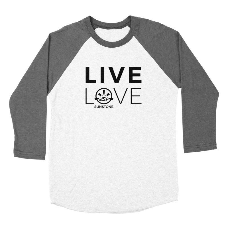 Live Love - Black Ink Men's Longsleeve T-Shirt by sunstoneFIT's Shop
