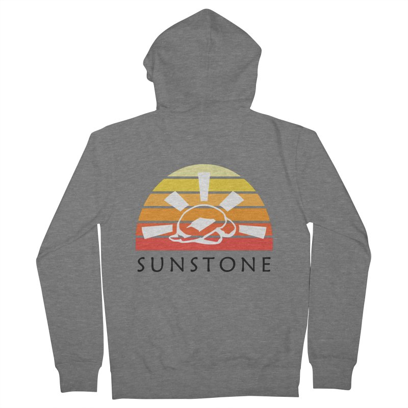 Vintage Ray (W) in Women's French Terry Zip-Up Hoody Heather Graphite by sunstoneFIT's Shop
