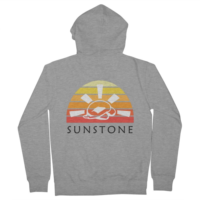 Vintage Ray (W) Men's French Terry Zip-Up Hoody by sunstoneFIT's Shop