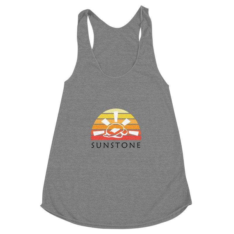 Vintage Ray (W) Women's Racerback Triblend Tank by sunstoneFIT's Shop