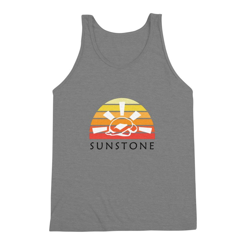 Vintage Ray (W) Men's Triblend Tank by sunstoneFIT's Shop
