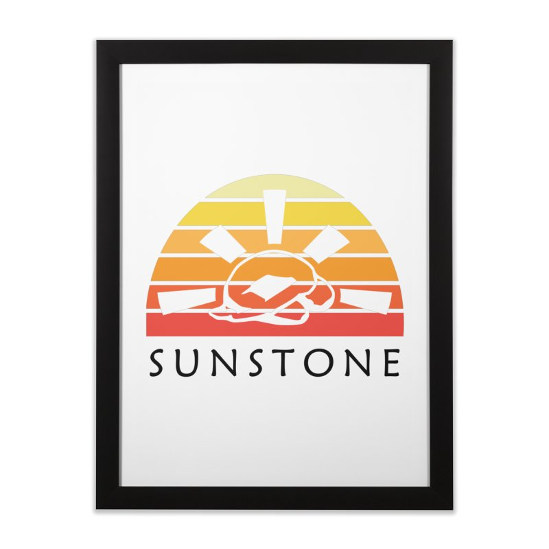 Vintage Ray (W) Home Framed Fine Art Print by sunstoneFIT's Shop