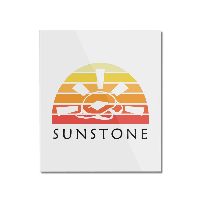 Vintage Ray (W) Home Mounted Acrylic Print by sunstoneFIT's Shop
