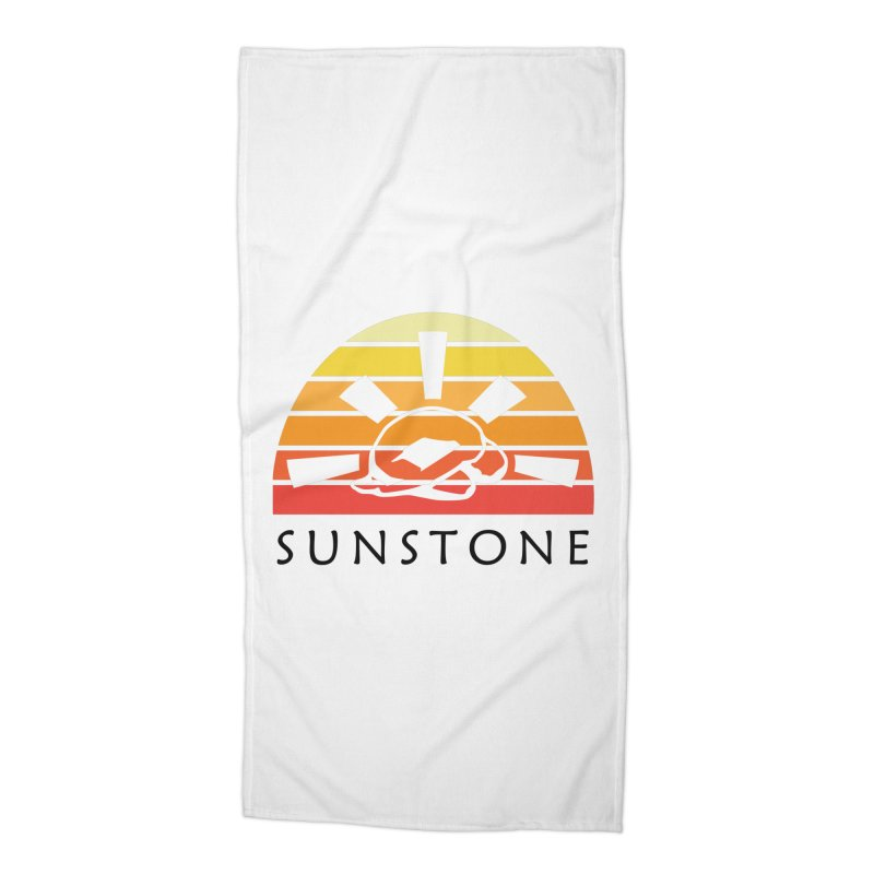 Vintage Ray (W) Accessories Beach Towel by sunstoneFIT's Shop