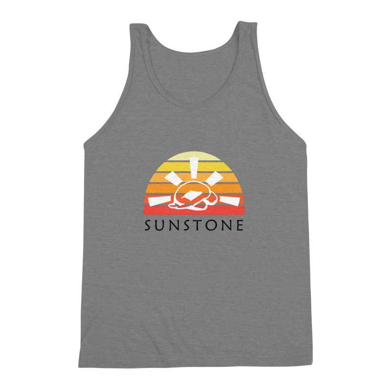 Vintage Ray (M) Men's Triblend Tank by sunstoneFIT's Shop