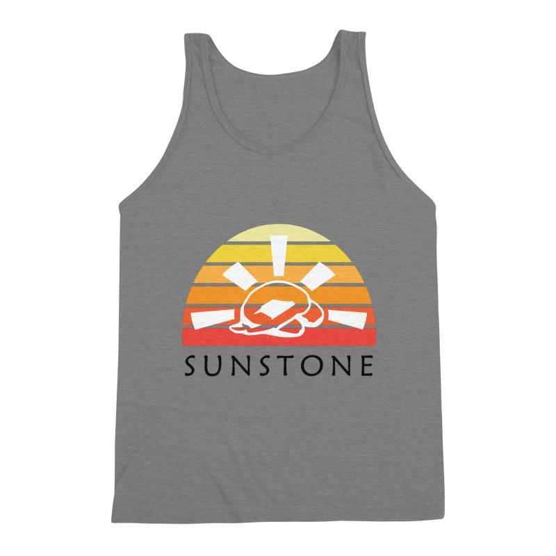 Vintage Ray (M) Men's Triblend Tank by sunstoneFIT's Shop