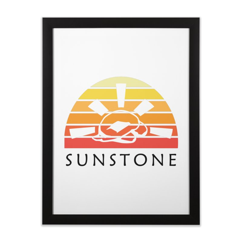 Vintage Ray (M) Home Framed Fine Art Print by sunstoneFIT's Shop