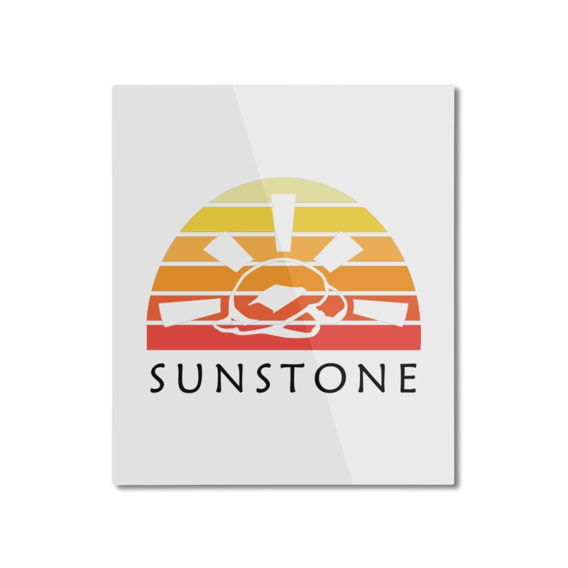 Vintage Ray (M) Home Mounted Aluminum Print by sunstoneFIT's Shop