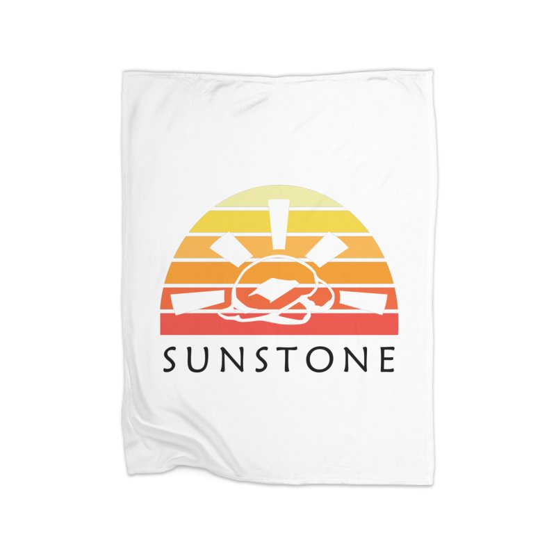 Vintage Ray (M) Home Fleece Blanket Blanket by sunstoneFIT's Shop